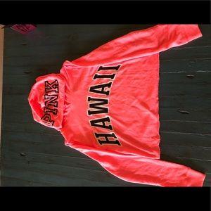 Victoria Secret Hawaii Crop Top Jacket PINK